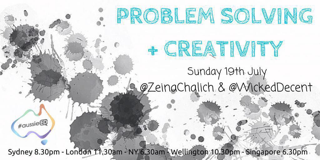 Problem solving challenge - how to participate in #aussieED IN 20mins with no wifi and bad phone reception?? HELP!! http://t.co/nhecg7O3cJ