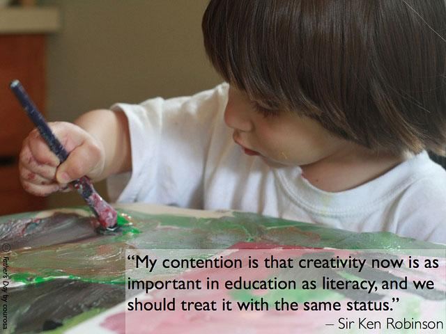 A3 Not sure I could say it better than @SirKenRobinson  #aussieED http://t.co/aabAxfjPOS