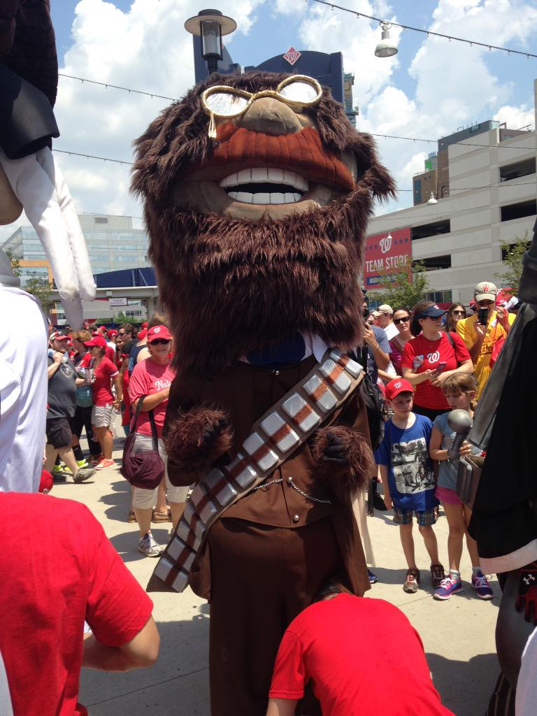 "Call me ""Tedbacca"" #NatsStarWarsDay http://t.co/0wVX5004NA"