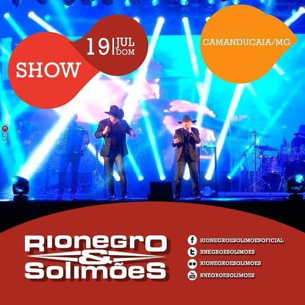Para encerrar a semana, hoje tem Rionegro & Solimões no #CamanducaiaCountryFest! Esperamos vocês!!! #AgendaRNS http://t.co/4GLZlMPI9M