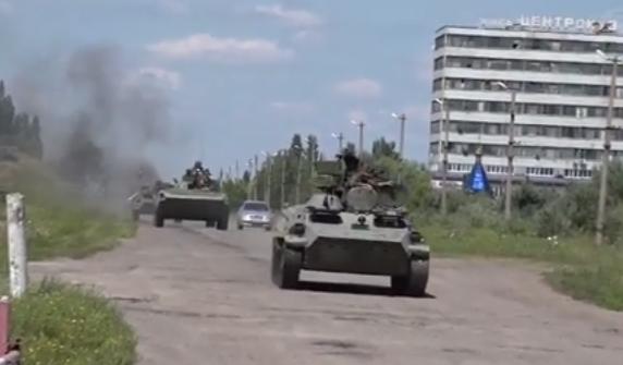 Разведка сообщает о создании мощных баз техники на оккупированных территориях и о подготовке боевиков к атаке, - ТСН - Цензор.НЕТ 210