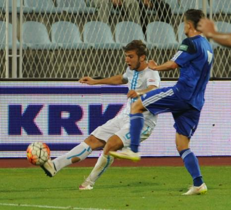 Stefan Ristovski during the game