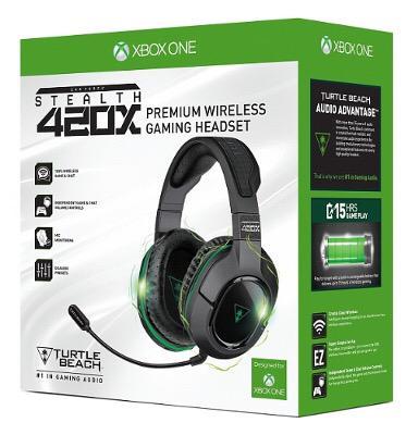 Retweet THIS TWEET to win the @turtlebeach 420X headset! Good luck! :D
