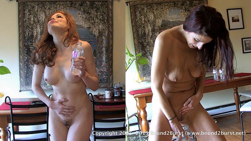 Nude bound noosed females
