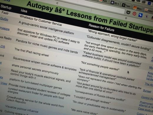 Autopsy.io is the anti-Product Hunt: A startup failure graveyard http://t.co/CJqpnq7301 #LFFdigital http://t.co/WuBOHKLLLv