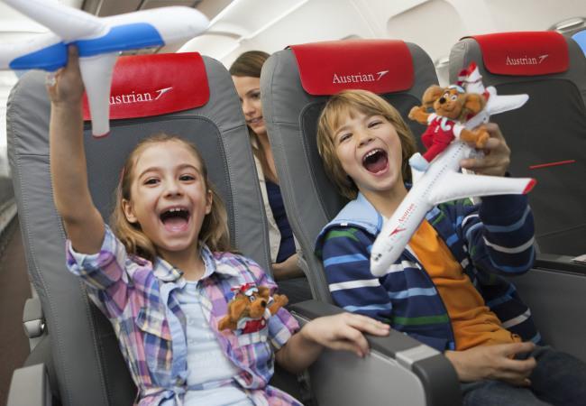 Aperto il Family Check-in all'aeroporto di Vienna