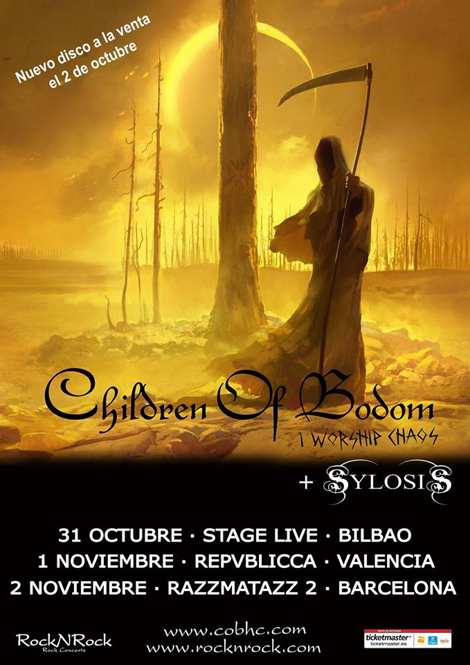 "Children Of Bodom - ""I Worship Caos"" (2015) CKWMv2SW8AAKTqW"