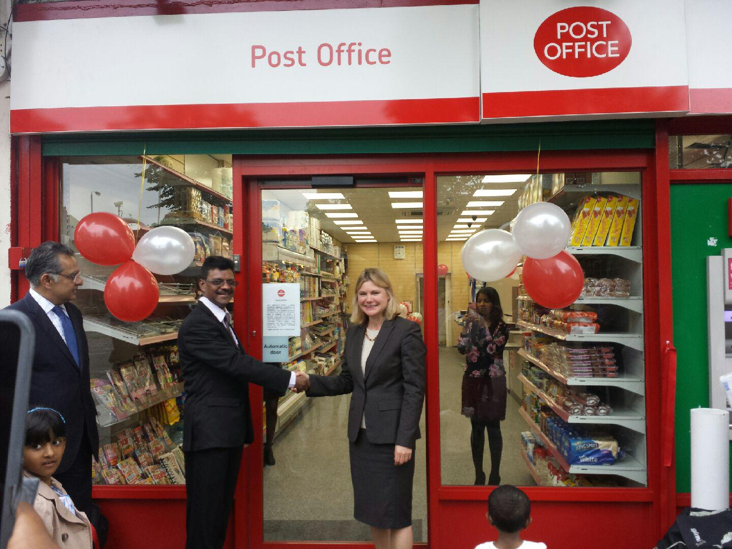 Justine greening on twitter danebury ave post office is open it 39 s now a main post office with - Post office working today ...