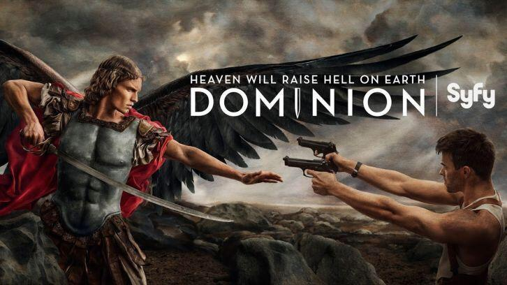 Heaven Is  Raising Hell On Earth! Catch up with #Dominion Season 1 on DVD http://t.co/kugg1bOeEj http://t.co/0VNQASpNoM