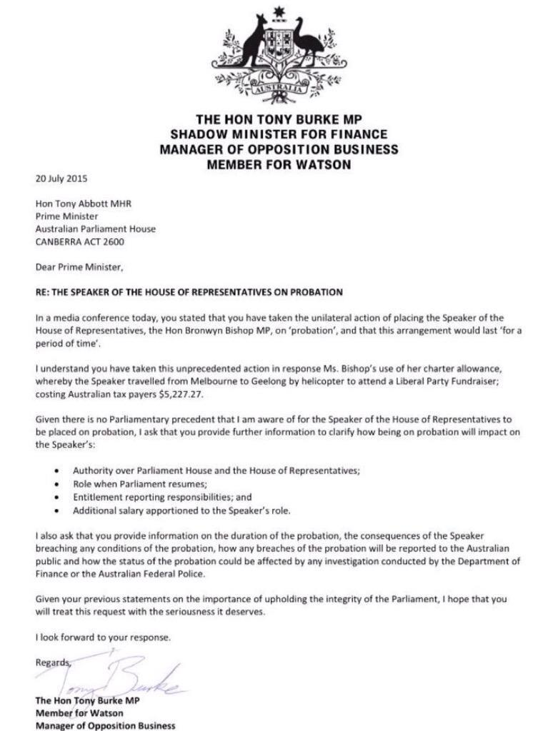 What Does C O Mean On A Letter.Tony Burke On Twitter So I Sent A Letter To Mr Abbott