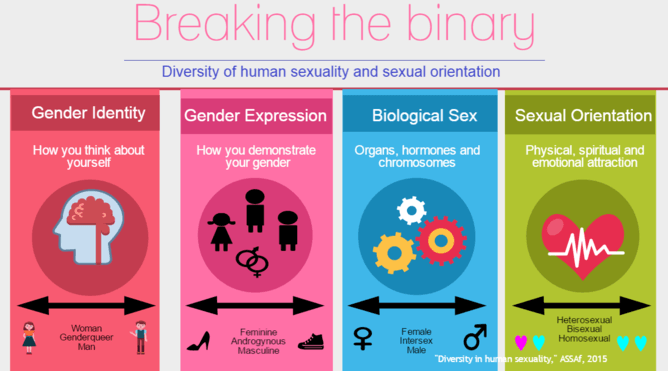 Allosexual origin