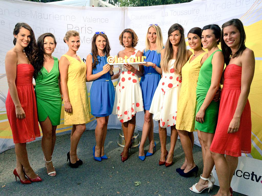 Tour De France On Twitter Say Hello To The Podium Girls