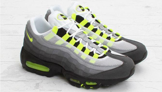 premium selection 78c58 ff6ec the nike air max 95 og neon returns this weekend