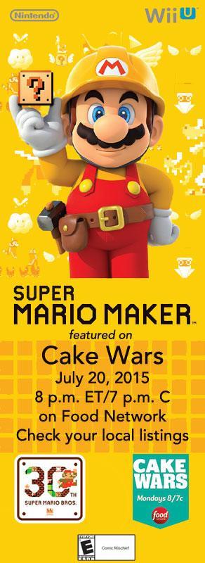Mario Maker Themed Cake Wars CKXpKS5WoAAcLSq