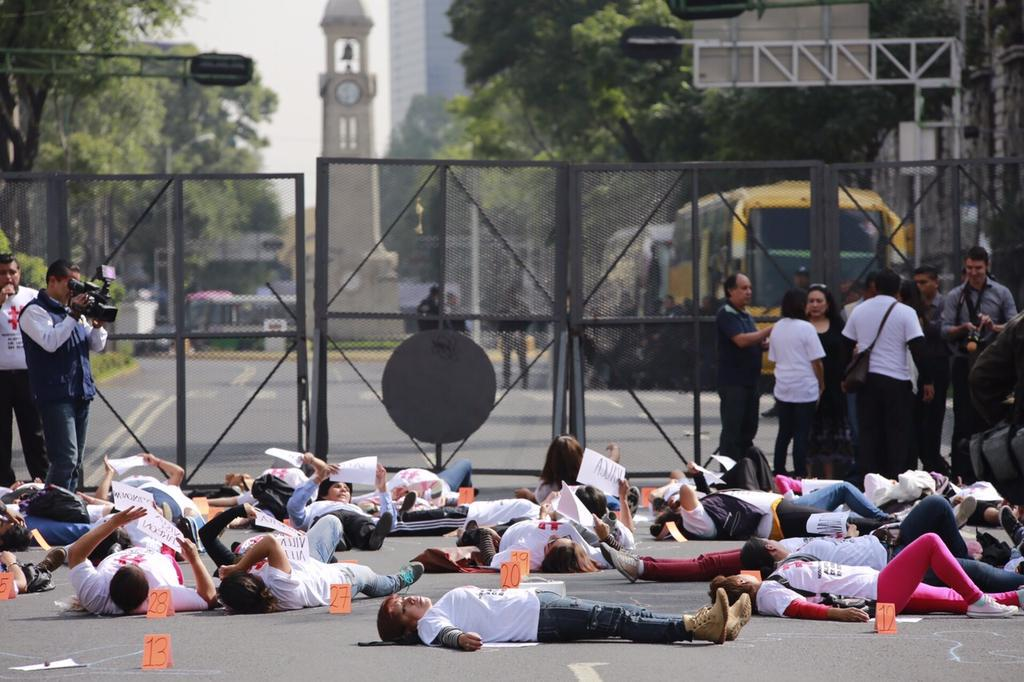 Women in Mexico rally against rampant domestic violence