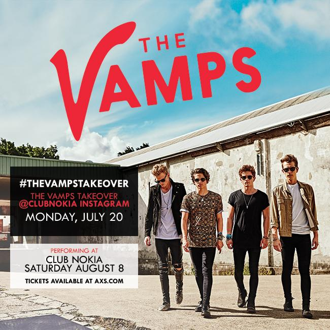 .@TheVampsband are taking over our Instagram RIGHT NOW before their show 8/8! Check it - https://t.co/tbvabC0g0z http://t.co/0SdREJXuu3