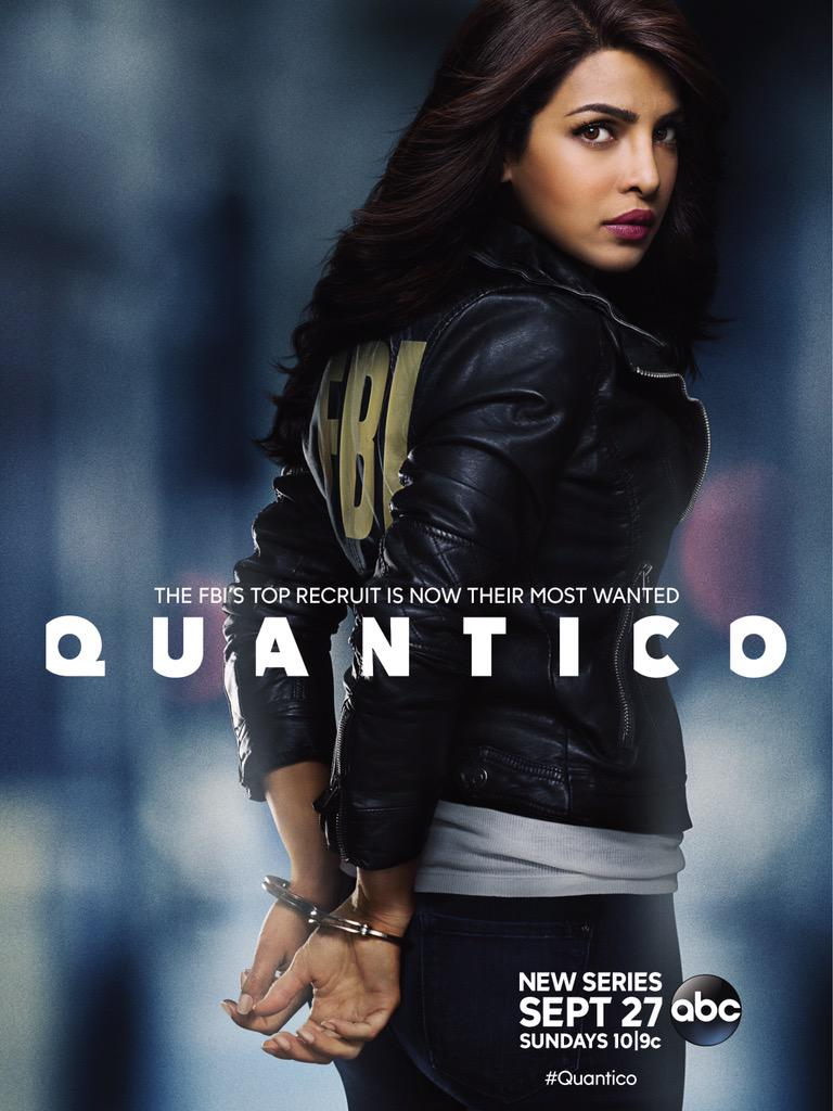 'Quantico' official poster released: Priyanka Chopra is seen handcuffed