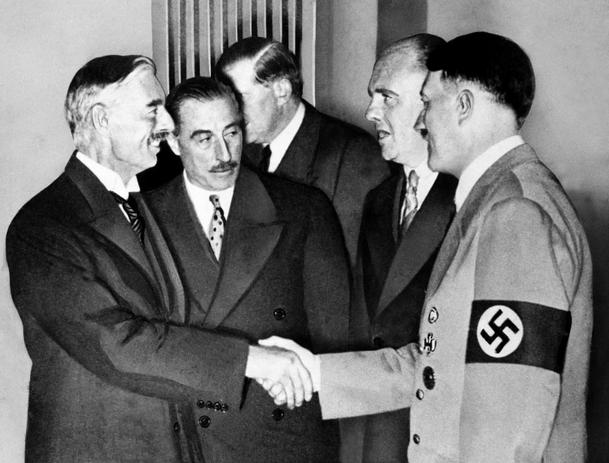 Washington Post defends Neville Chamberlain and Munich agreement