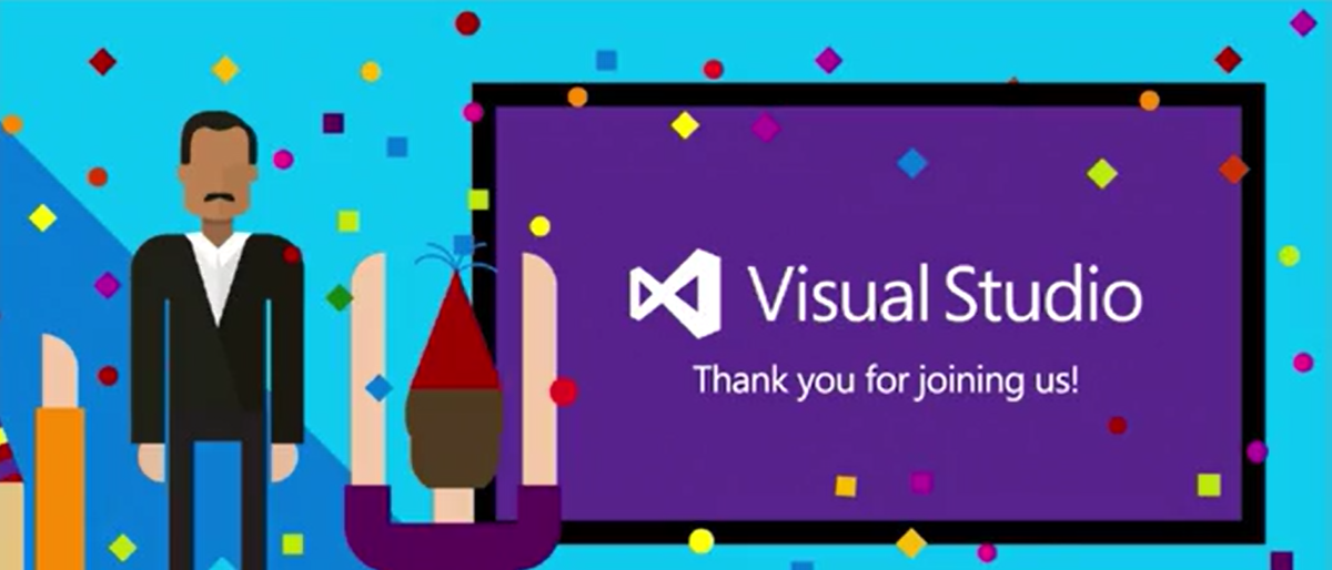 Thank You for joining us today. Go ahead and download #VS2015   On Demand videos are now available. @VisualStudio http://t.co/mAwiCCHrO9
