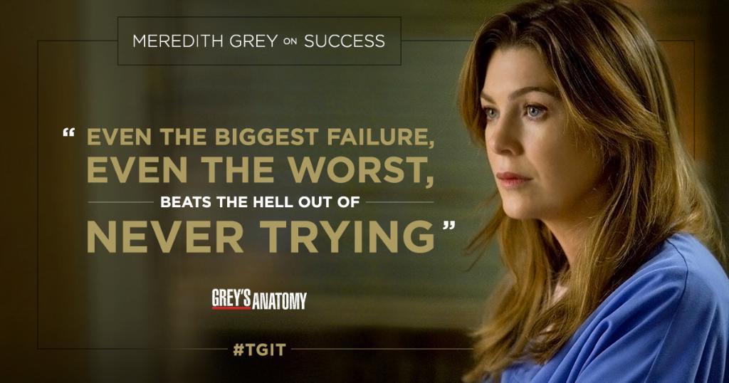 Greys Anatomy On Twitter Meredith Motivation Motivationmonday