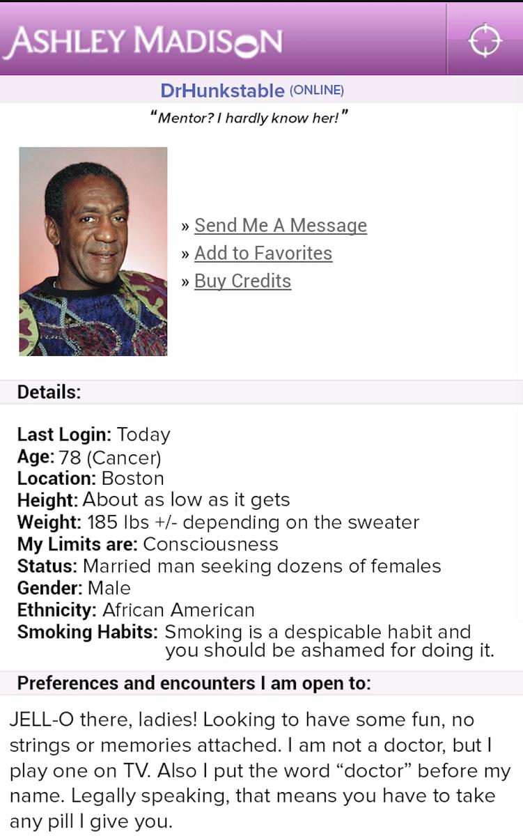 ashley madison profile search