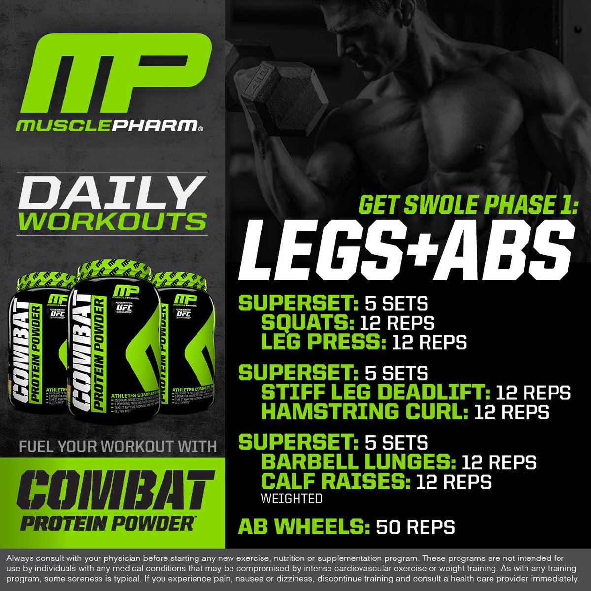 Muscle pharm workout program phase 2 anotherhackedlife musclepharm on twitter mp workout of the day it s get swole malvernweather Images