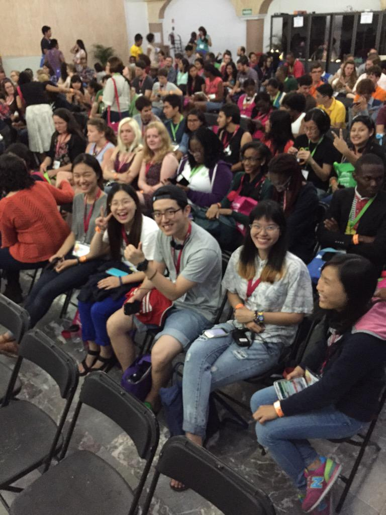 170 students from 89 countries are here at #wa2015! http://t.co/q4duYGNkEG