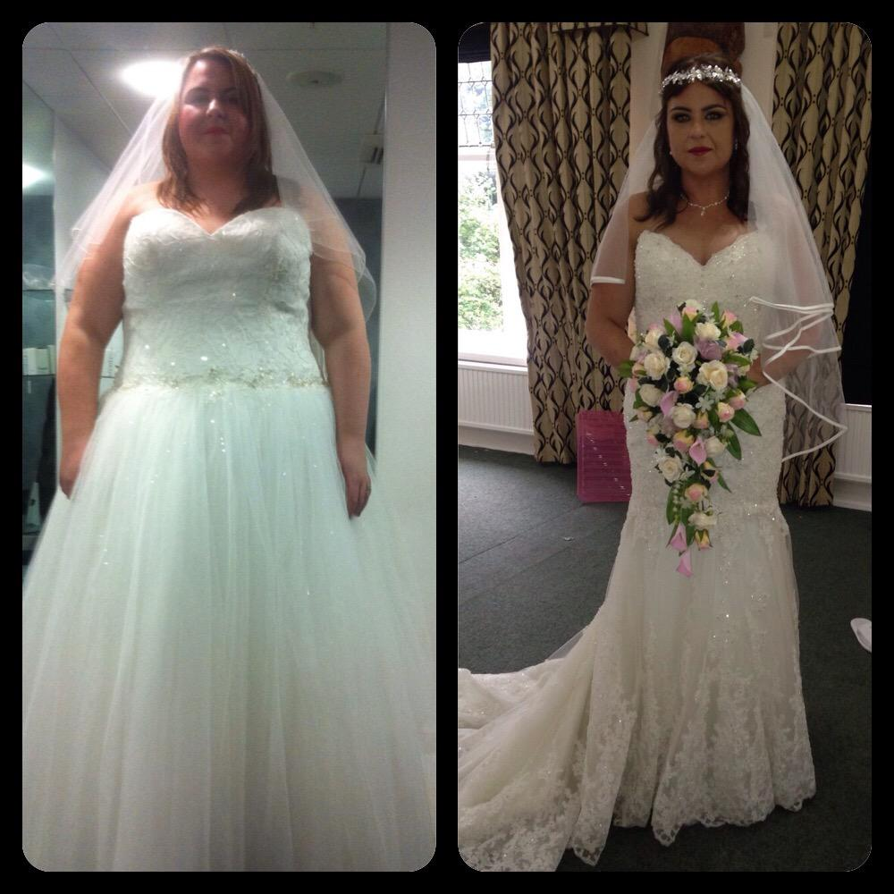 RT @Alexmoore0502: @HollyGShore I lost -8.5 stone since January 5th 2015 for my wedding on Sunday. Lost that much I needed a new dress! htt…