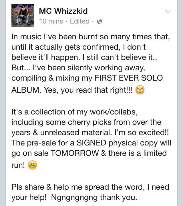 If your a fan/friend/supporter, I'll really need your help over the next week or so.. http://t.co/rpLxt2qI6x