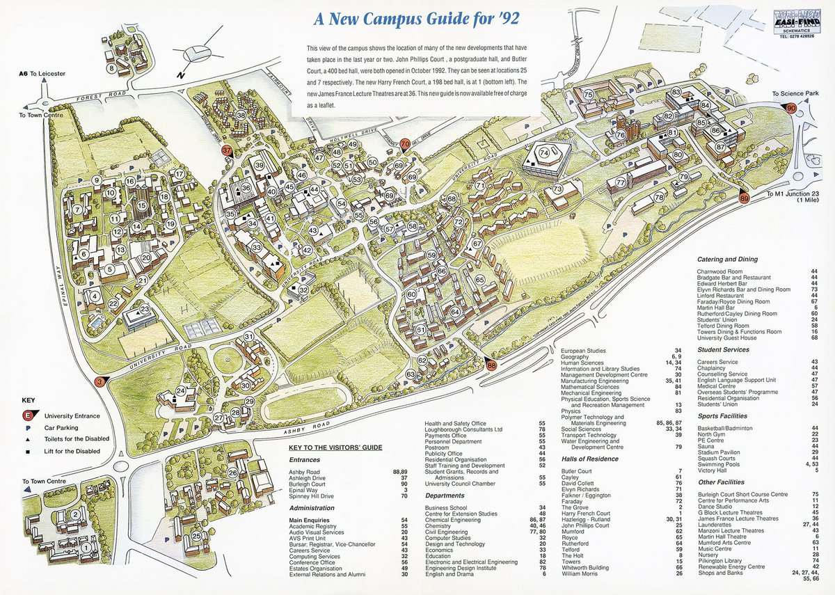 Loughborough University Map Loughborough University on Twitter: