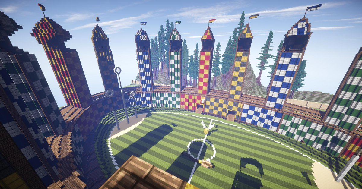 Potterworldmc On Twitter Let S Take A Fly Around The Quidditch