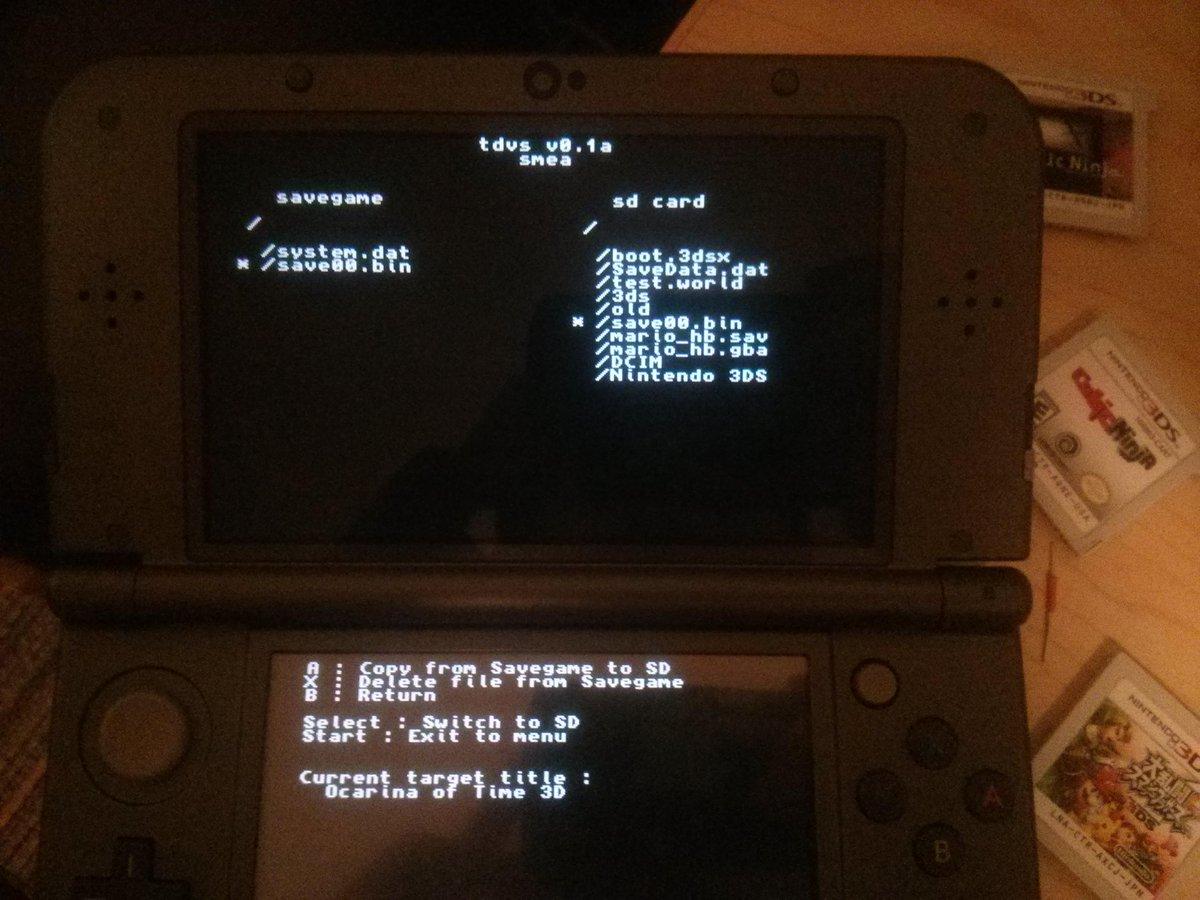 HO+TUTO] OOT3DHax • Homebrew Launcher con Zelda: OOT3D en Nintendo
