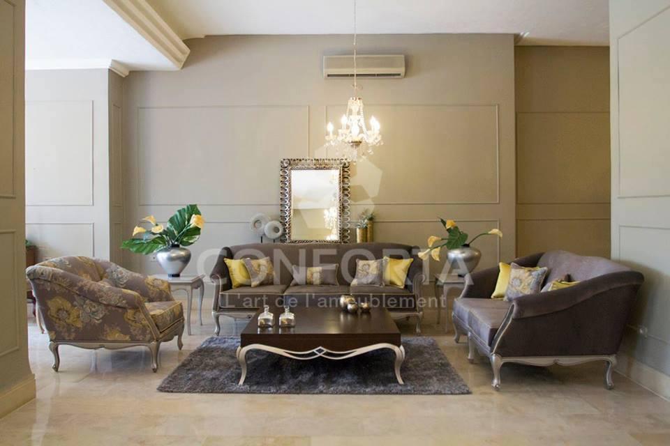 Conforta meubles on twitter votre salon est le premier for Meuble 5 etoiles tunisie mnihla salon