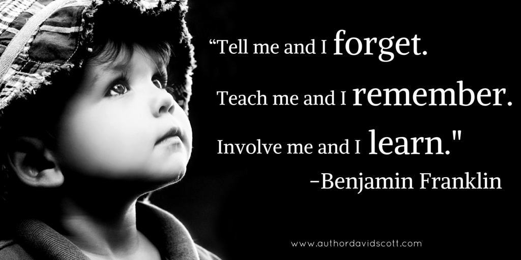 Image result for teach me i forget involve me