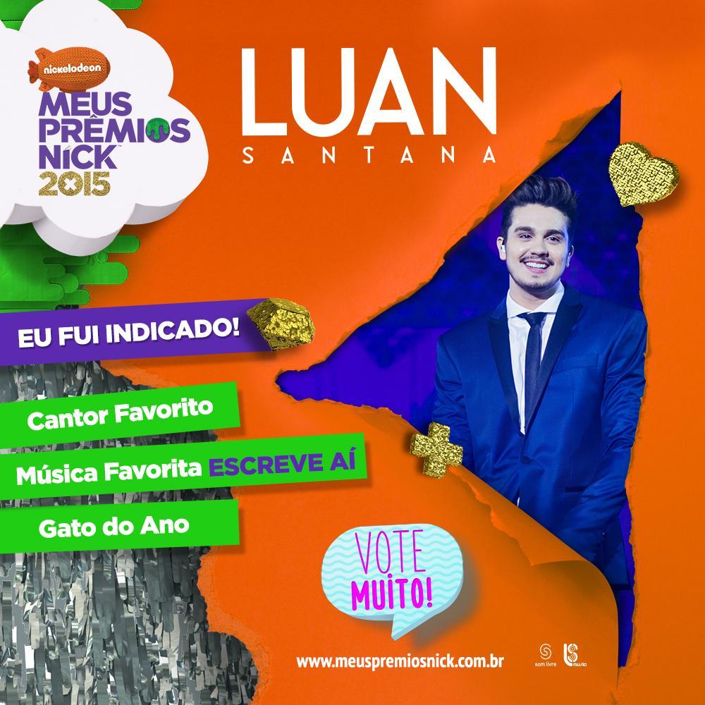 + um ano! \o/ Vote agora http://t.co/PqC130o6Bt (Até 16 de agosto) ou use  #MPN #LUANSANTANA no twitter -Equipe LS