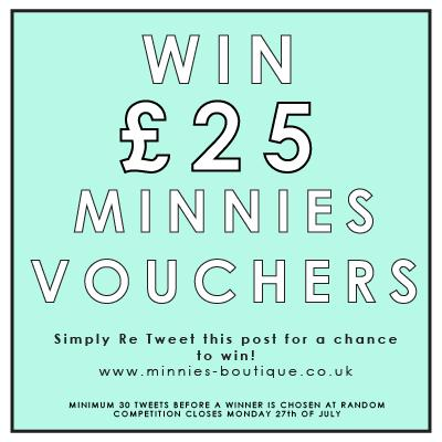 Competition Time! Re tweet this post for a chance to win £25 Minnies Vouchers http://t.co/yvgUQOrSev