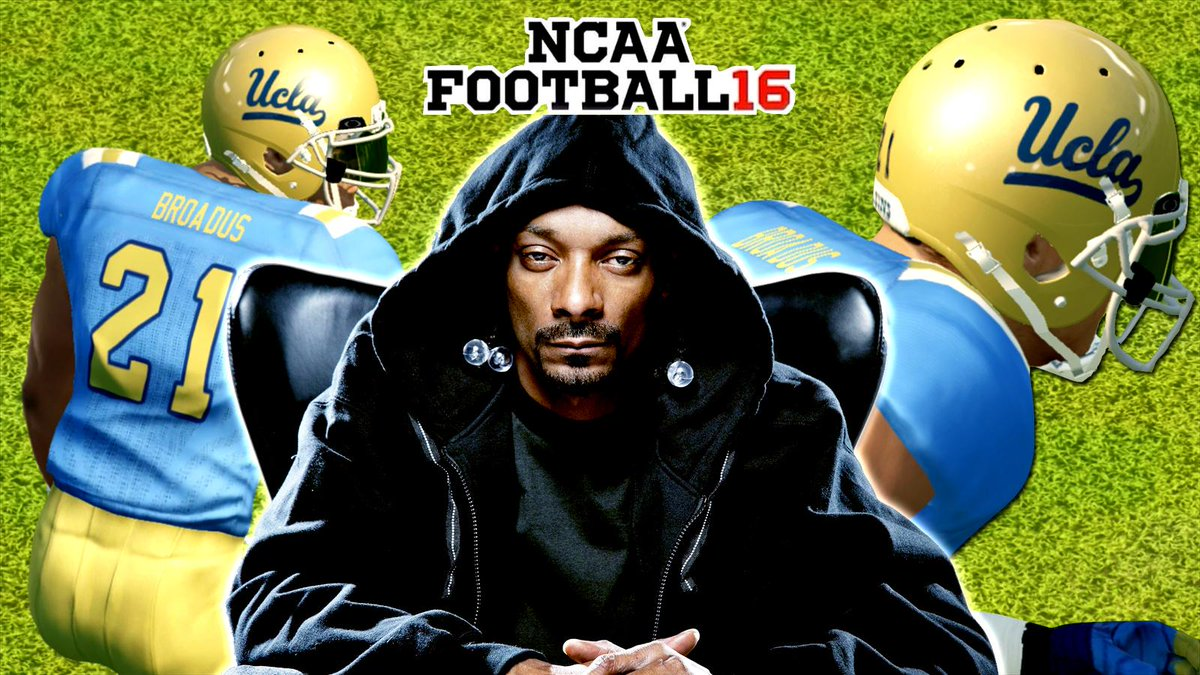 Snoop Dogg On Twitter Lets Bring Ncaa Football 16 To Xbox1 We