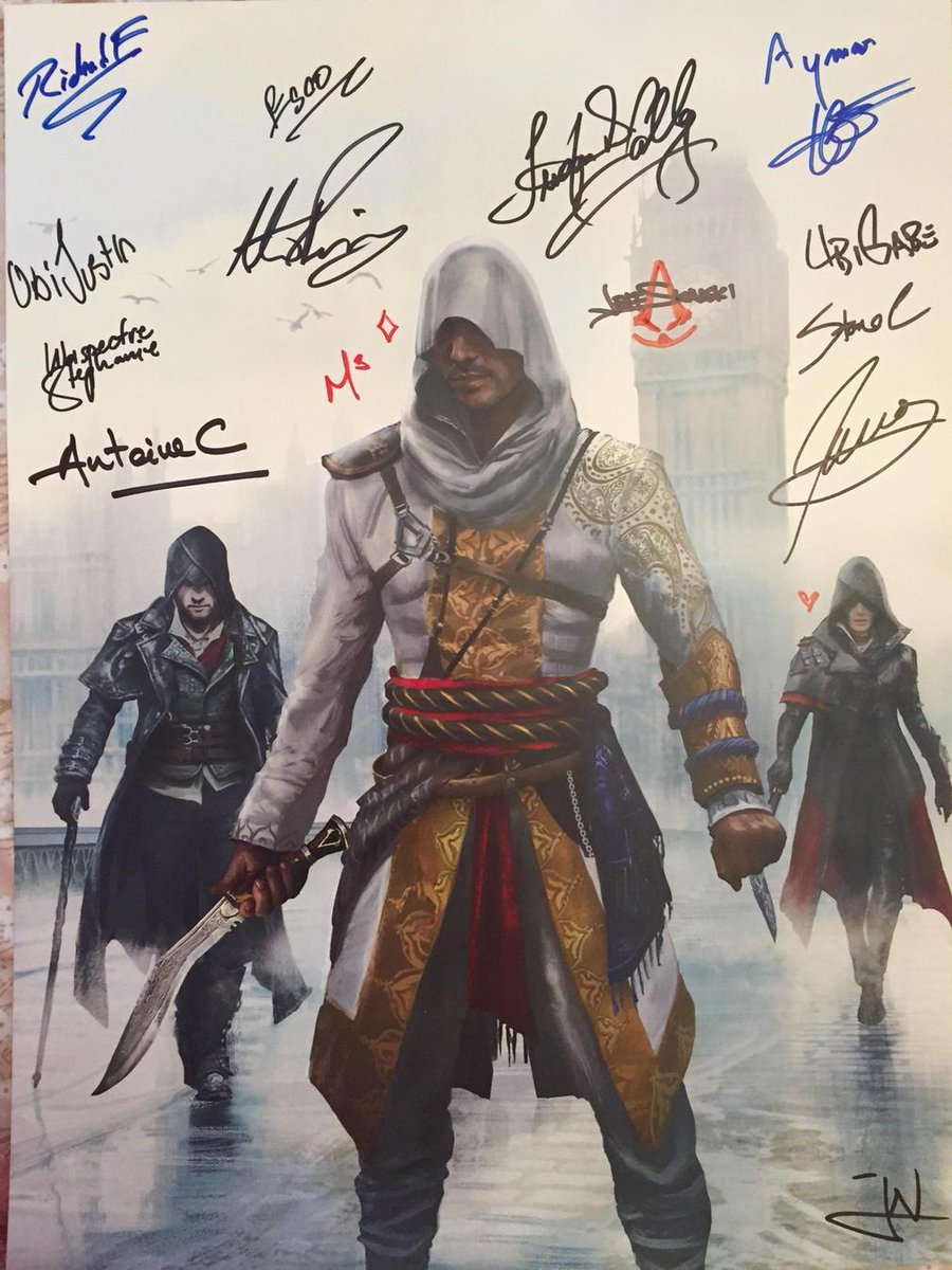 Do you want this signed @assassinscreed Underworld limited print? RT & follow for a chance to win! Ends 28/07 http://t.co/3aYp3cuSFf