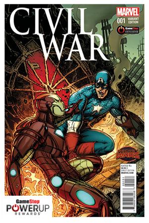 Marvel Civil War Comic Book