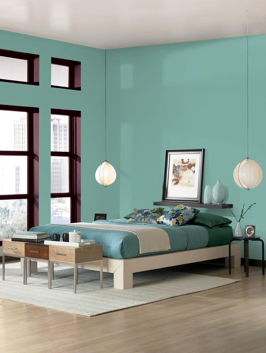 Sherwin williams on twitter keep cooled blue sw 675 - Colores para pintar dormitorios juveniles ...