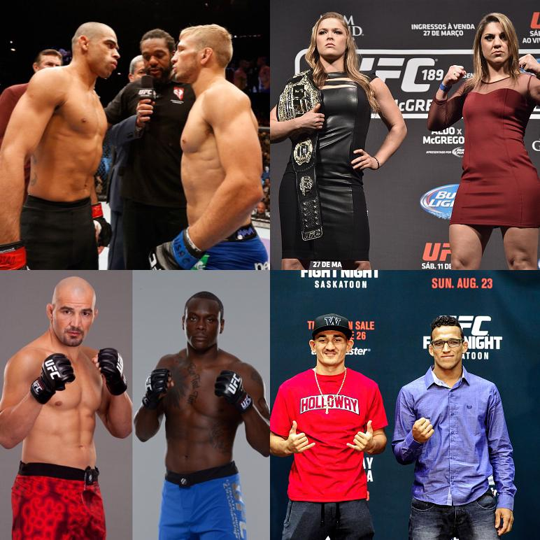 Great schedule of UFC events coming up! Let us know which