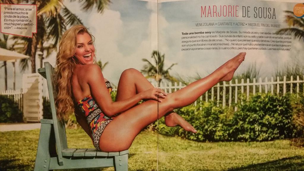 Marjorie de sousa legs with