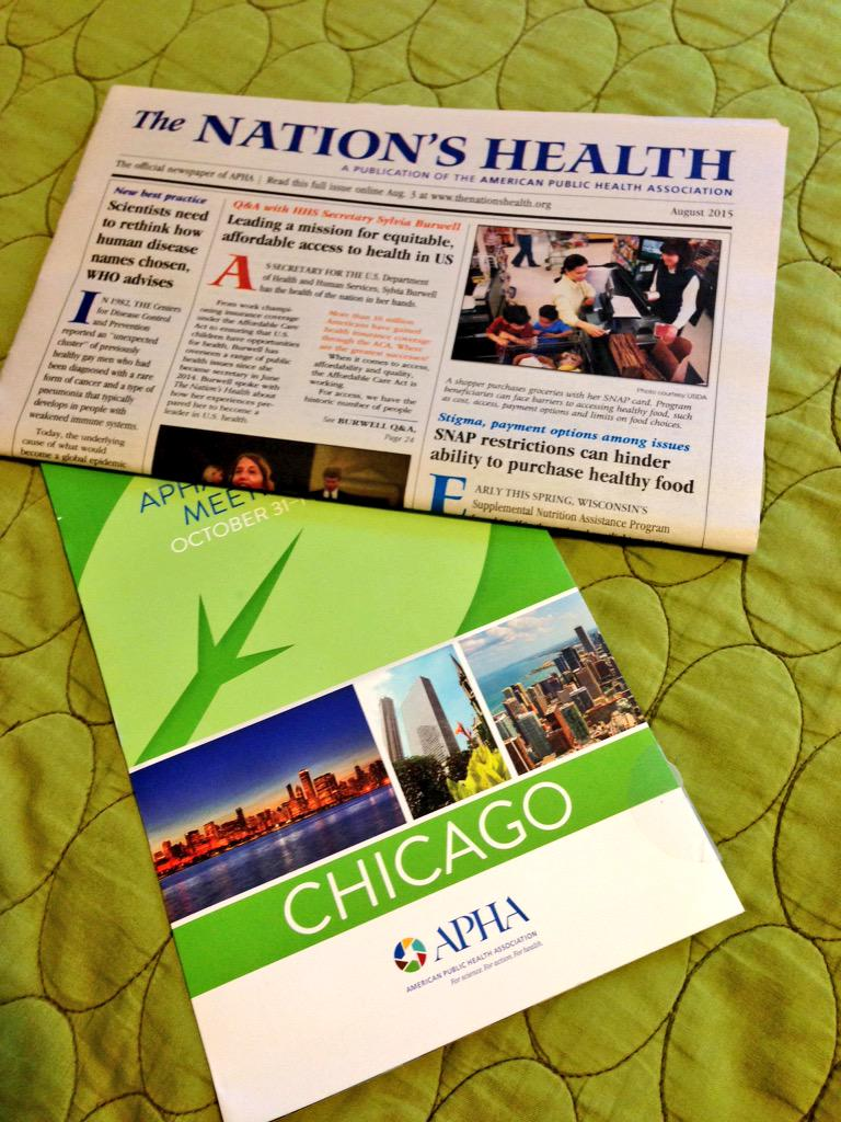 Joined APHA & OPHA and received fun stuff in the mail!  @PHSAatKSU @PublicHealth http://t.co/5aTQQHCssp