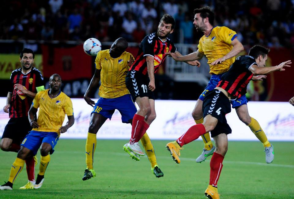 APOEL held off Vardar