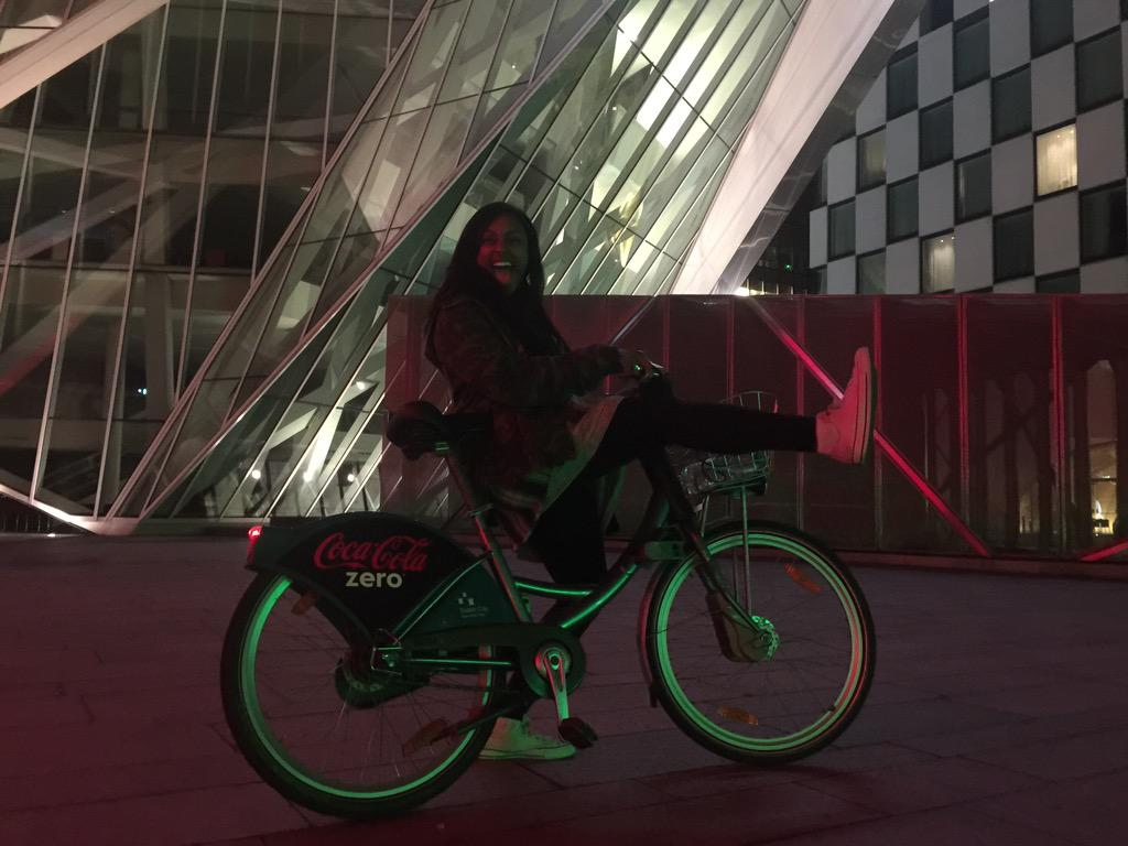 Woke up from my nap earlier and went for a random bike ride around Dublin!! 🚴🏾😆 http://t.co/NTDPBHeS8I