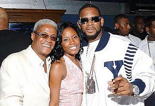 R.Kelly with George and Maxine Daniels Photo: Twitter