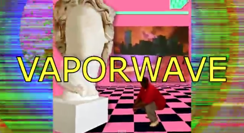 "Lori Burwash on Twitter: ""How to make vaporwave. It's about ass ..."