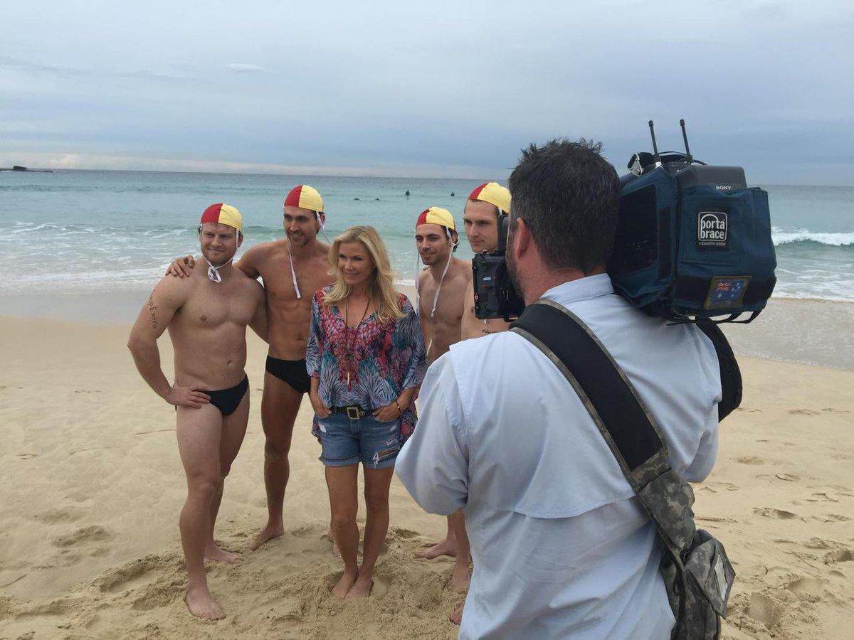 Angela Bi On Twitter The Bold Beautiful Star Katherinekellyl Having A Tough Day At Office Bondi Beach Today