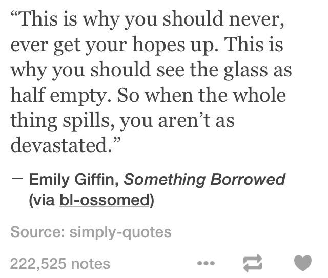 Depression Quotes On Twitter Ill Never Set High Expectations So