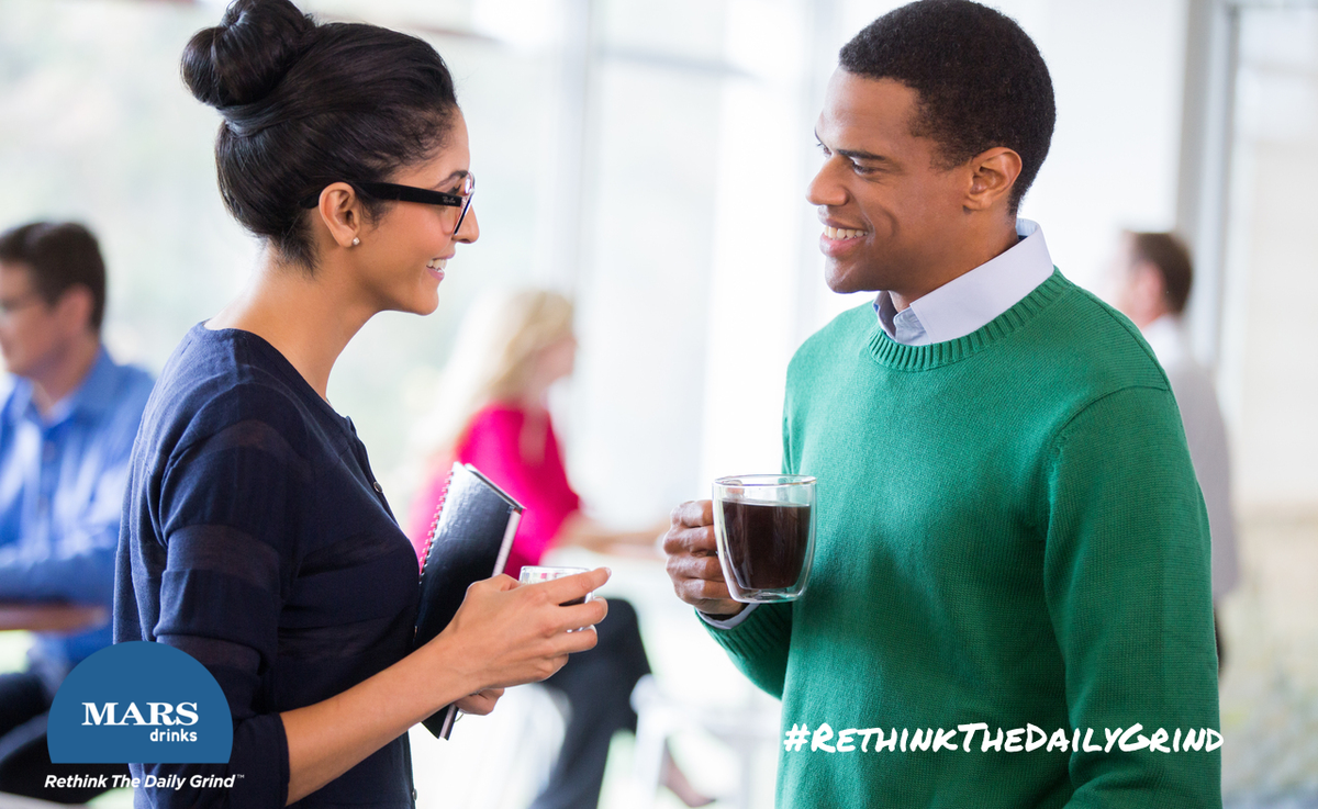 """Coffee has become synonymous with #innovation, #collaboration, and """"getting together"""". #RethinkTheDailyGrind http://t.co/OniTgHrAdI"""